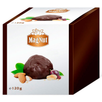 Цукерки Mag Nut Chocks з арахісом та мигдалем 120г