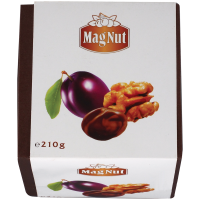 Цукерки Mag Nut Чорнослив з грецьким горіхом 210г