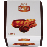 Цукерки Mag Nut Фініки з грецьким горіхом 210г х12