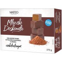 Цукерки Mateo молочко шоколадне в какао глазурі 370г