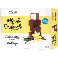 Цукерки Mateo молочко ванільне в какао глазурі 370г