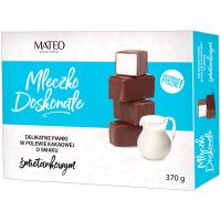 Цукерки Mateo молочко вершкове в какао глазурі 370г