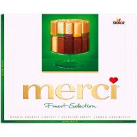Цукерки Merci Finest 4 види з мигдалем 250г