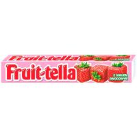 Цукерки Perfetti Fruit-tella зі смаком полуниці 41г