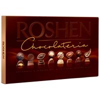 Цукерки Roshen Chocolateria у чорному шоколаді 194г