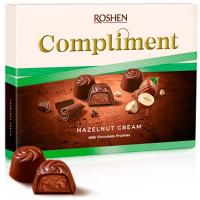Цукерки Roshen Comliment з горіховою начинкою 122г