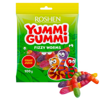 Цукерки Roshen желейні YummiGummi 100г