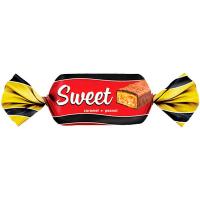 Цукерки Ulduz Sweet з молочною карамеллю та арахісом ваг/кг