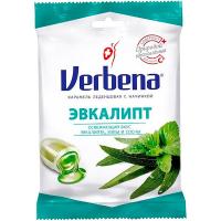 Цукерки Verbena карамель евкаліпт 60г