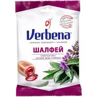 Цукерки Verbena карамель шавлія 60г