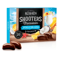Цукерки Roshen Shooters Pina Cilada 150г
