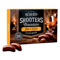 Цукерки Roshen Shooters з бренді-лікером 150г