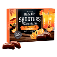 Цукерки Roshen Shooters Tequila Sunrise 150г