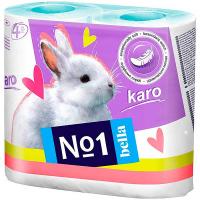 Туалетний папір Bella Karo №1 4шт