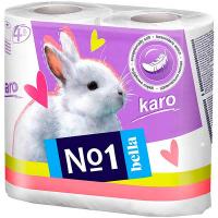 Туалетний папір Bella Karo 4шт
