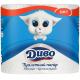 Туалетний папір Диво Soft Білий, 4 шт.