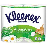Туалетний папір Kleenex Sensation Ніжна ромашка 4шт