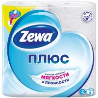 Туалетний папір Zeva Плюс біла 4шт