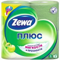 Туалетний папір Zeva Плюс зелена 4шт