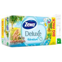 Туалетний папір Zewa Delux Adventure Білий, 16 шт.