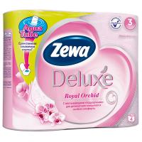 Туалетний папір Zewa Delux Orchid ароматизована 4шт