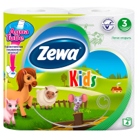 Туалетний папір Zewa Kids 4шт