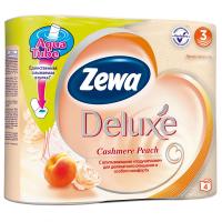 Туалетний папір Zewa peach Deluxe 4шт