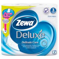 Туалетний папір Zewa pure white Deluxe 4шт