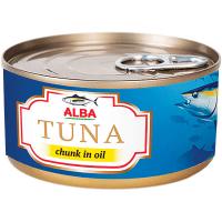 Тунець Alba Food цілий в олії з/б 150г