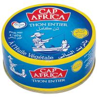 Тунець Cap Africa цілий в олії ж/б 160г