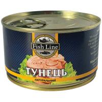 Тунець Fish Line натуральний ж/б ключ 240г