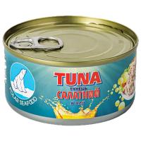 Тунець Polar Seafood салатний в олії 185г