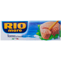 Тунець Riomare у власному соку 3*80г