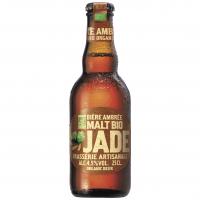 """Пиво органічне ТМ """"Jade"""" """"Ambree"""" Франція 0,25л"""