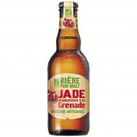 """Пиво  органічне TM """"Jade"""" """"GRENADE""""  Франція 0,25л"""