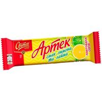 Вафлі Світоч Артек смак лимона та лайма 80г
