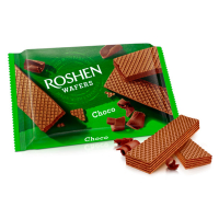Вафлі Waffers шоколад ТМ Roshen, Україна, 72г