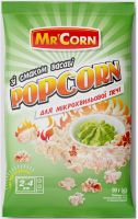 Попкорн Mc`Corn д/мікрохвильової печі Васабі 90г