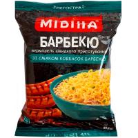 Вермішель Мівіна Барбекю зі смаком ковбасок барбекю 59,2гр