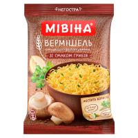 Вермішель Мівіна гриби пакет 60г