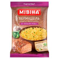 Вермішель Мівіна мясо пакет 60г