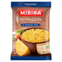 Вермішель Мівіна сир пакет 60г