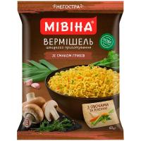 Вермішель Мівіна зі смаком грибів 60г