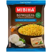 Вермішель Мівіна зі смаком сиру та зеленню 60г