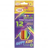 Олівці 12 кольорів у наборі, арт. 10112B-1, VGR Італія
