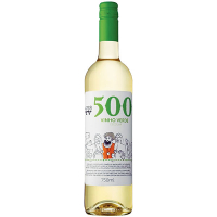 Вино 500 Vinho Verde біле напівсухе 8.5% 0,75л
