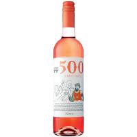 Вино 500 Vinho Verde рожеве напівсухе 8.5% 0.75л