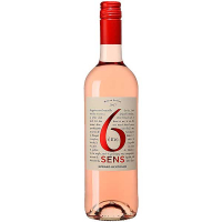 Вино 6 Eme Sens Rose рожеве сухе 0.75л
