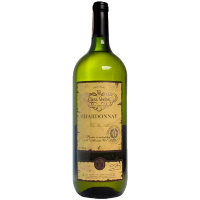 Вино Casa Veche Chardonnay Шардоне біле сухе 9-11% 1,5л