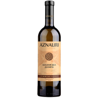 Вино Aznauri Алазанська долина біле напівсолодке 0,75л